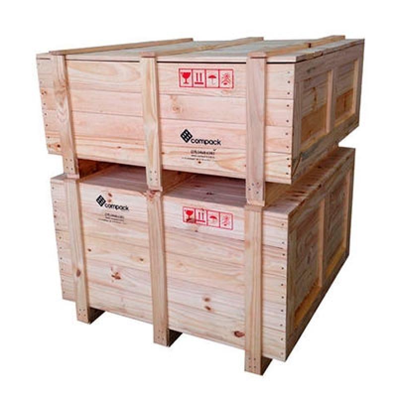 Fabricante de Caixa de Madeira Exportação Holambra - Caixa de Madeira Grande