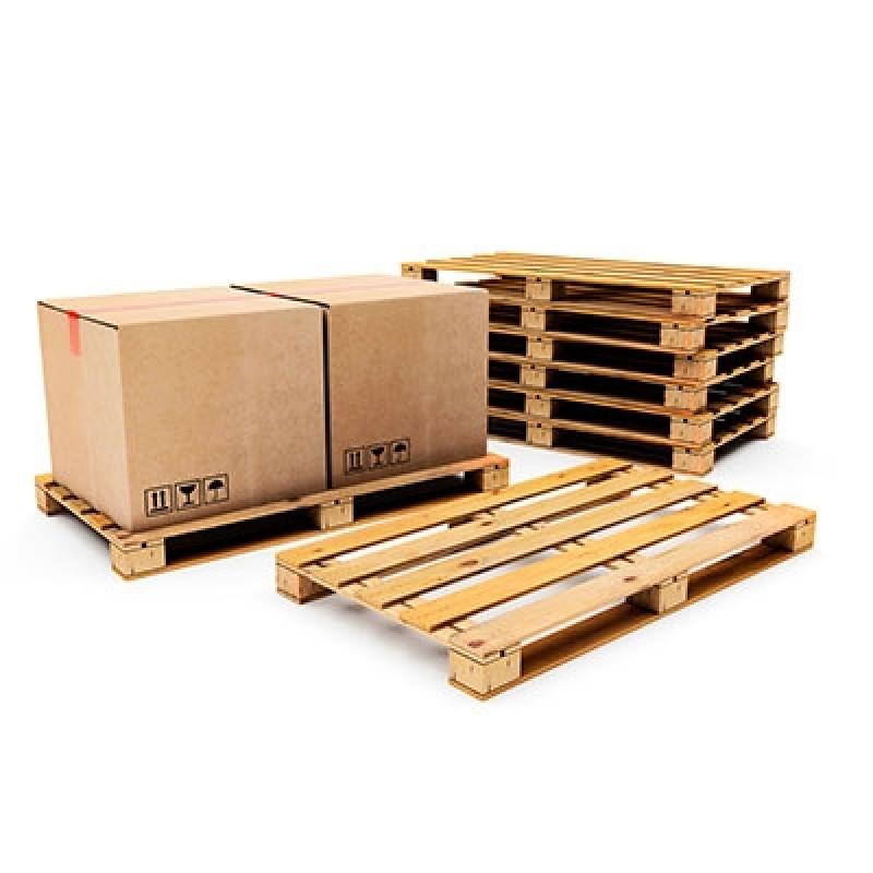 Fabricante de Caixa de Palete de Madeira Jaguariúna - Caixa Pallet Madeira