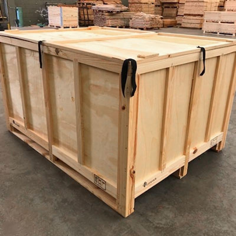 Preço de Embalagem de Madeira para Transporte Sumaré - Embalagem de Madeira
