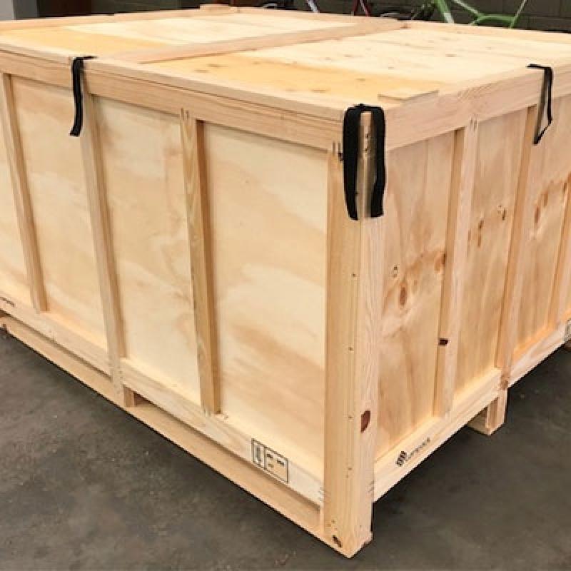 Preço de Embalagem de Madeira Paulínia - Embalagem de Madeira Grande