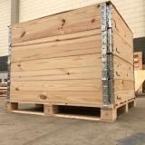 caixa de madeira para transporte de vidro