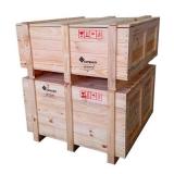 caixa de madeira retangular