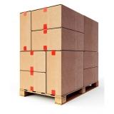 caixa palete de madeira