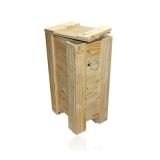 embalagem madeira exportação Jardim dos Passaros