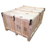 embalagem de madeira grande