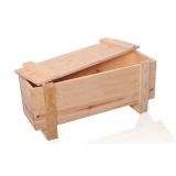 embalagem de madeira industrial