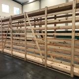 empresa de engradado de madeira de transporte Nova Odessa