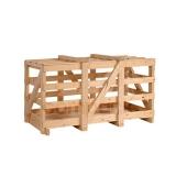 engradado de madeira de transporte