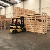 engradado de madeira industria