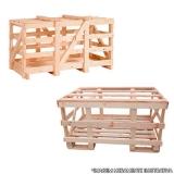engradado de madeira para máquinas