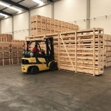 qual o valor de engradado de madeira industria Holambra